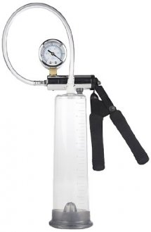 California Exotic Novelties Precision Pump Advanced, Clear the perfect pump for the first time or advanced pumpers
