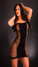 NAUGHTY GIRL TUBE DRESS O/S (NET)