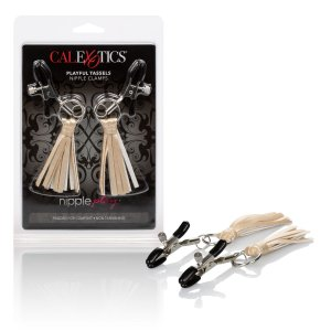 NIPPLE PLAY PLAYFUL TASSELS NIPPLE CLAMPS GOLD