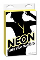 (WD) NEON PARTY VIBE NECKLACE YELLOW