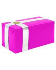 Gift Wrapping For Your Purchase (Hot Pink w/White Ribbon)-Extra Day to Ship