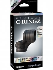 FANTASY C-RINZ MR BIG COCK RING & BALL STRETCHER