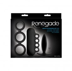 RENEGADE MEN'S PLEASURE KIT #1 BLACK
