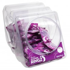 VIBRATING PLEASURE RINGZ 36PC BOWL