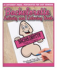 Bachelorette Activity & Coloring Book