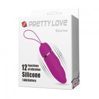 PRETTY LOVE EDWINA BULLET VIBRATOR PURPLE
