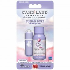 CANDILAND SUGAR BUZZ MASSA SET RED LICORICE