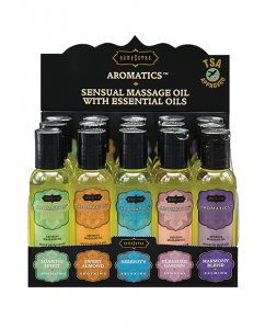 NATURAL MASSAGE OILS PRE PACK