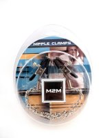 NIPPLE CLAMPS SMALL PLIER CHROME W/CHAIN