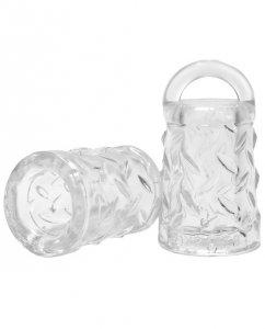 Oxballs Gripper Nipple Suckers - Clear