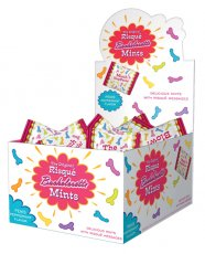 Risque Bachelorette Party Mints - Display of 100