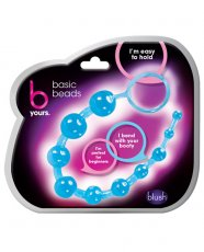Blush B Yours Basic Anal Beads - Blue