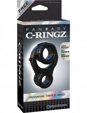 FANTASY C-RINGZ IRONMAN TRIPLE RING