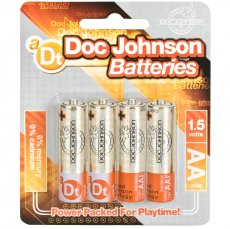 DOC JOHNSON BATTERIES AA 4 PACK CD(out June)