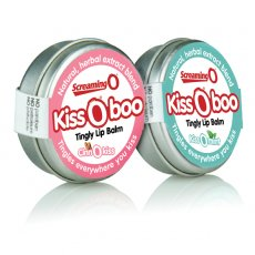 KISS O BOO PEPPERMINT TINGLY LIP BALM