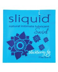 Sliquid Naturals Swirl Lubricant Pillow - .17 oz Fig