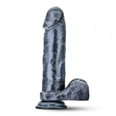 JET SHADOW CARBON METALLIC BLACK DILDO