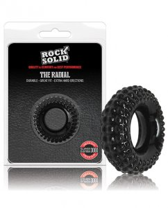 Rock Solid Radial Cockring - Black