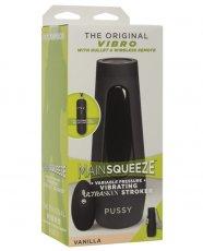 Main Squeeze Original Vibro Pussy - Vanilla
