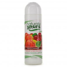 (D) NATURALLY YOURS PEACH CRANBERRY 8 OZ