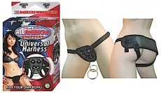 ALL AMERICAN WHOPPERS UNIVERSAL HARNESS BLACK