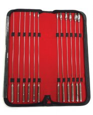 Rouge Stainless Steel Rosebud Dilator Set - Set of 12