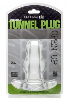 D-TUNNEL PLUG X LARGE ICE CLEAR