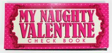 NAUGHTY VALENTINE CHECK BOOK