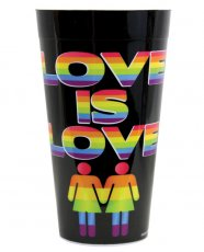 Love is Love Drinking Cup
