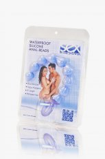 SEX IN THE SHOWER ANAL BEADS SILICONE WATERPROOF