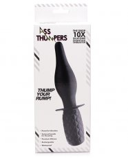 Ass Thumpers The Drop 10x Silicone Vibrating Thruster