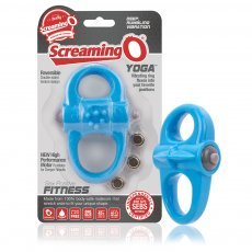 (D) SCREAMING O YOGA BLUE VIBRATING RING