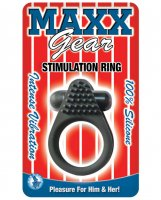 Maxx Gear Stimulation Ring - Black
