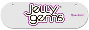 JELLY GEMS SIGN 6INx18