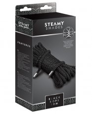 Steamy Shades Rope - Black
