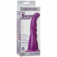 VAC-U-LOCK ATTACH THE BEAUTY SILICONE PURPLE