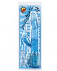 Jungle Jiggler Bird Beaded Vibe - Blue
