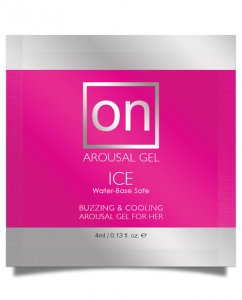 On for Her Arousal Gel Ice - Foil