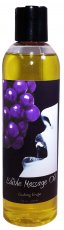 MASSAGE OIL EDIBLE GRAPE 8 OZ