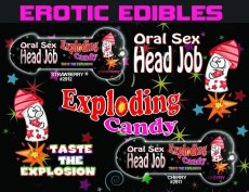HEAD JOB ORAL SEX CANDY CHERRY PURPLE