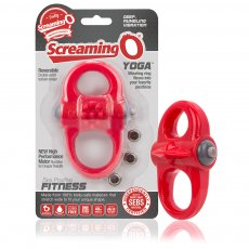 (D) SCREAMING O YOGA RED VIBRATING RING