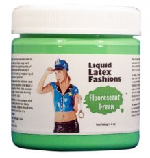 LIQUID LATEX FLUORESCENT 16OZ