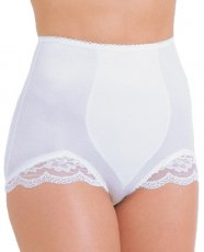 Rago Shapewear Panty Brief Light Shaping White 6X