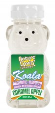 (D) KOALA FLAVORED LUBE CARAME APPLE 6 OZ