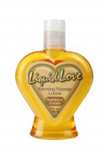 LIQUID LOVE WARMING MASSAGE LOTION PEACHES/CREAM