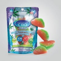 CBD 120MG WATERMELON GUMMIES 4PC (NET)