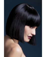 Smiffy The Fever Wig Collection Lola - Black
