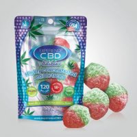 CBD 120MG STRAWBERRY GUMMIES 4PC (NET)