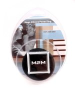 M2M RING SILICONE MEGA BLACK