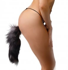 Sex Toy Fox Tail Anal Butt Plugs